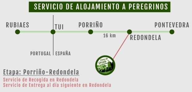 Alojamiento a peregrinos camino portugues redondela